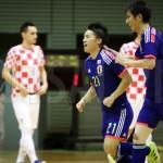 【国際親善試合】フットサル日本代表、加藤竜馬が先制点奪うも追いつかれドローに。