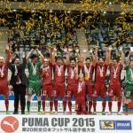 【PUMA CUP 2015】名古屋、貫禄の大会3連覇! -フォトレポート