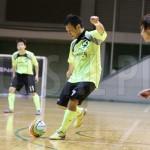 関東1部オールスターが関東2部オールスターに快勝。ゴールパフォーマンスも観客を沸かせた。