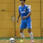 U-18フットサル日本代表候補 FP清水和也「A代表の雰囲気を持ち込みたい」